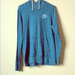 Nike, organic cotton, Women's xl hoodie, Teal